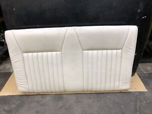 87 93 Ford Mustang Convertible White Leather Rear Seat Back B154