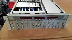 Wiltron 6630b Programmable Sweep Generator 12 4 20ghz For Parts