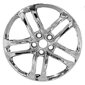 Factory Original Refurbished Light Pvd Chrome 18 In 74673 Alloy Wheel For Kia