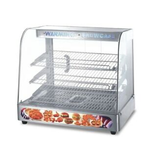 Vfn 220v Commercial Heated Showcase Insulation Cabinet Food Snack Preservation