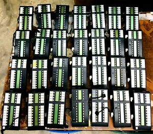 Nortel Lot Of 28 T24 Dss blf Nt8b29 Add On Module Good Condition Used tested