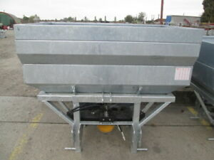 Tractor Mounted Double Rotary Plate Wirax Fertilizer Spreader