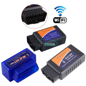 Elm327 Obd2 Wifi Bluetooth Obdii Car Diagnostic Scanner Interface 2a Mt3608