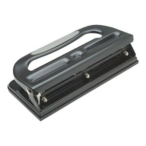 Staples Circle 3 hole Punch 30 Sheet Capacity Black 24549 33989 572645