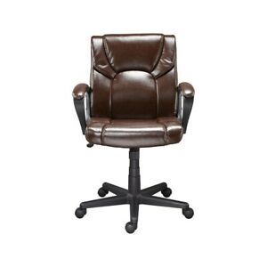 Staples Montessa Ii Luxura Managers Chair Brown 272093