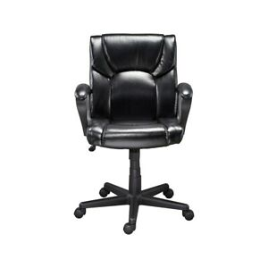 Staples Montessa Ii Luxura Managers Chair Black 272067