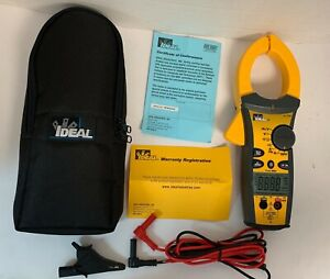 Ideal 1000a Ac dc Tightsight Clamp Meter 61 775