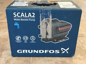 Grundfos Scala2 3 45 Booster Pump 3 4 Hp 115v 98562818 Free Shipping