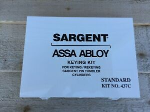 Sargent Assa Abloy Keying Pinning Kit 437c Standard Fast Free Shipping