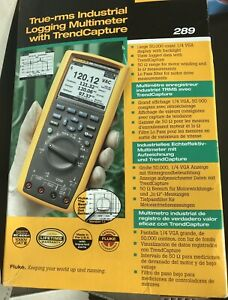 New Fluke 289 Tru rms Industrial Logging Multimeter With Trendcapture