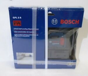 Bosch Gpl5r 5 Point Self Leveling Alignment Laser Brand New