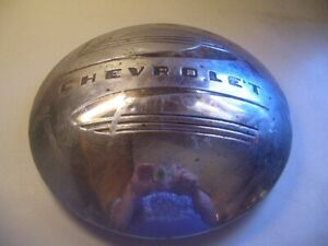 Used Vintage 1940 S Chevrolet Chevy Dog Dish Hubcap Cover