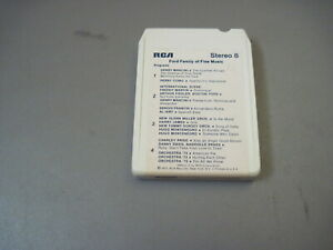 1973 Ford family Of Fine Music 8 Track Tape