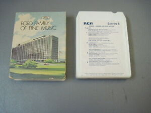 1975 Ford family Of Fine Music 8 Track Tape
