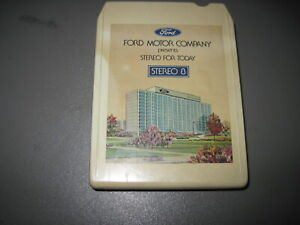 1976 Ford stereo For Today 8 Track Tape