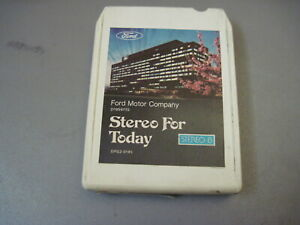 1977 Ford stereo For Today 8 Track Tape