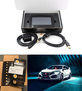 Ktuner Flash V2 Ecu Tuning System Touch Display For Honda Civic Type R 17 18 19