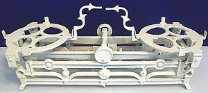 Antique Cast Iron 3kg Balance Scale White Cream Color Vintage Home Decor Rare