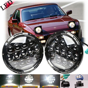 Philips 7 Inch Cree Round Led Headlight Sealed Beam Lamp For Porsche 944 83 91