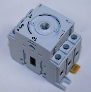 Eaton R5a3016u Rotary Disconnect Non fusible 16a 3 Pole 600v A Frame New In Box