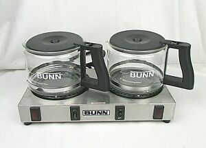 Bunn Coffee Warmer Model Wx2 Two Burner With 2 10 Cup Pots