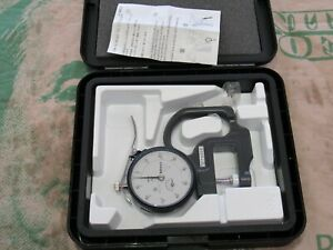 Mitutoyo Indicator 2414s 7300s Made In Japan 221934 Dial Thickness Gauge