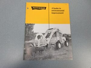 Rare Pettibone Cary lift Sales Brochure