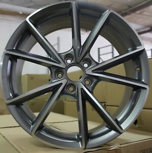 19 Inch Rims Audi S Line Style A4 A5 S5 A6 S6 A7 S7 Rs6 Rs7 Machined Wheels