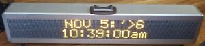 Signtronix Led 2 Programable Interior Business Store Sign