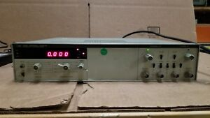 Hp 5328a Universal Counter Tested Good
