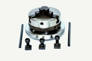 65 Mm Mini Scroll Lathe Chuck 3 Jaw For Rotary Table 3 And 4 Inches 2 Chucks Set