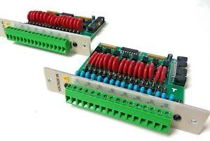 Esc Environmental Systems S112 3010 Rev A Voltage In Data Logger Module Lot Of 2