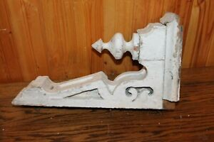 Antique Original Wood Corbel 15 Tall From 1800 S