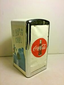 Coca Cola Napkin Dispenser 1994  'Always Cool'