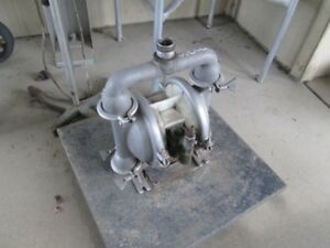 Wilden Diaphragm Pump Model M4 S s 1 5 In out Tri Clamp