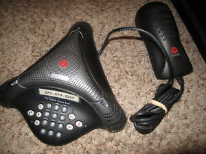 Polycom Voicestation 300 2201 17910 001 Conference Telephone W Power Supply