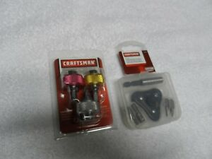 Craftsman Finger Screwdriver Bit Ratchet Wrench Set Usa P n 41390 46158