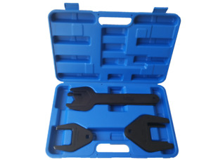 10pcs Fan Pulley Holding Clutch Wrench Remover Installer Car Wrench Kit Set Tool