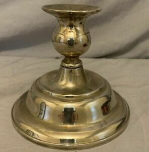 Vintage Silver Plate 4 1 4 Candlestick