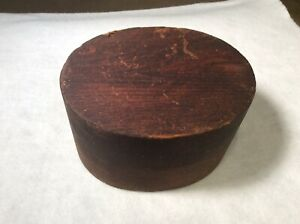 Antique Millinery Tool Solid Wood Hat Block Mold Form