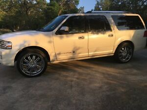 24 Chrome Rims And Tires For Lincoln Navigator Ford Expedition F150