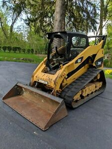 2009 Caterpillar 289c Skid Steer Track Loader Less Than 3000 Hours