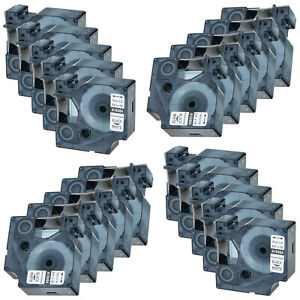 20 Pack 18484 Rhino Permanent Poly Industrial Label Tape 3 4 For Dymo 4200 5200