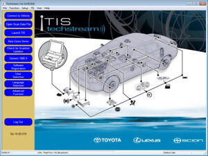 Latest Techstream Toyota Lexus Tis V14 10 028 For Unlimited Computers Install