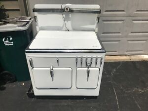Rachel Ray Style Vintage Antique Chambers Gas Stove Mdl 15 B