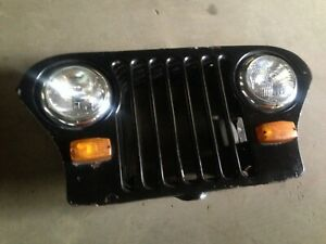 Jeep Cj5 Grill Willys Kaiser Grille Headlight Buckets