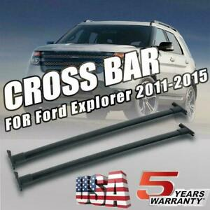Roof Rack Cross Bar Luggage Carrier For 2011 2012 2013 2014 2015 Ford Explorer