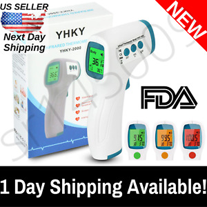 Infrared Thermometer Forehead Non contact Touch Digital Baby Adult Medical Fda