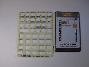 Smi Sce V7 Standard Cogo Card Version 7 Manual Overlay For The Hp 48gx