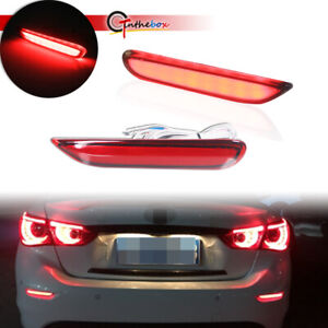 Red Lens Led W Sequential Turn Signal Brake Lights For Infiniti Q50 Qx Nissan